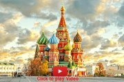 Video Du lịch Nga, Moscow, Saint Petersburg